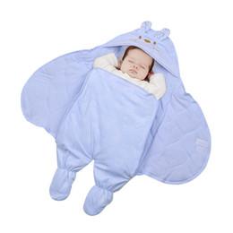 Одеяло кроватки мальчика онлайн-Хлопок детские одеяла новорожденная девочка мальчик ребенок получает одеяла конверт спальный мешок для коляски детская кроватка BL26