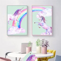 Смоляные кресты для онлайн-Единорог фламинго 5d Алмаз живопись наборы для детей взрослых DIY Unicornio дизайн вышивки крестом смолы Bling мульти размер 33om3 CZ
