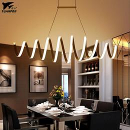 contadores de acrílico Rebajas Lámparas de techo modernas luces de techo de acrílico para barra de bar Cocina comedor