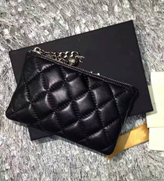 Wholesale organic cotton women - brand new famous designer lambskin coin pruses women small wallet 27