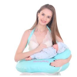 100% coton oreiller d'allaitement Design vert solide pour la grossesse et le nouveau-né en forme de U confortable et doux ? partir de fabricateur