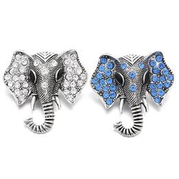 2 цветов слон Оснастки ювелирные изделия Кристалл металла кнопка Fit 18 мм Оснастки кнопка браслет браслеты DIY ювелирных изделий от Поставщики бронзовые танцевальные туфли