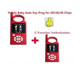 Wholesale mahindra cars - Russia Portuguese Version V8.8.9 Handy Baby G Funtion Car Key Prog Auto Key Programmer for 4D 46 48 Chips + G Chip Copy Function
