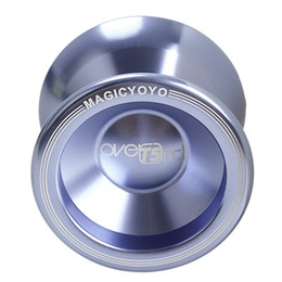 Cool Yo-Yo in alluminio ad alta velocità professionale T5 Overlord String Light Toy YOYO Magic Ball da
