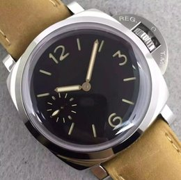 f839decf791 Relógio de luxo 422 relógio designer mestre faixa de couro movimento suíço  homens movimento original homem esportes relógios de Pulso À Prova D  Água