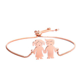 couples pendants UK - Silver gold rose gold Pendant Stainless Metal Lovely Couple Keychains Lovers Key Ring Best Gift for Valentine's Day Wedding Anniversary