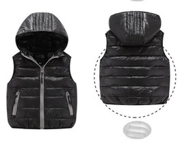 Wholesale Baby Clothing Winter Coat - 3-12T Kids Vest Baby Girls Waistcoat 90% Duck Down Vests Warm Kids Boy Outerwear Coats Boys Winter Vest Children Clothes