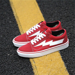 Wholesale Mens Shoes For Winter - HOT SALE 2018 New Revenge X storm Old Skool Mens Designer Sports Running Shoes for Men Sneakers Women Luxury Brand Casual Trainers