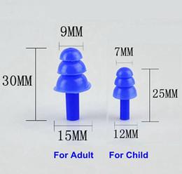 Tapones para los oídos suaves del silicón Aislamiento acústico Tapones para los oídos del oído impermeable de la protección contra el ruido para el niño Adulto que nada con la caja al por menor desde fabricantes