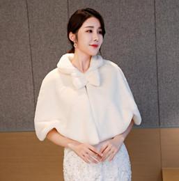 damen jacke koreanischen stil Rabatt Netter Revers Hals Mit Bogen Kunstpelz Winter Mäntel Braut Wrap Koreanische Mode Stil Jacke Weibliche Wilde War Dünne Damen Mantel