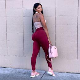 yoga indossa la biancheria intima Sconti Leggings sportivi da donna Pantaloni da yoga Calzamaglia Sportswear Donna Vita alta Leggings senza cuciture Running Gym Fitness Abbigliamento Intimo Slim fit soft