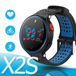 Wholesale android x2 - Microwear X2 Plus Smart Bracelet Heart Rate Monitor Pedometer Sleep Tracker Smart Band FitnessTracker for Android IOS iPhone