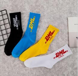 marcas deportivas usa Rebajas Medias de mujer para hombre marea calle Europa y EE. UU. Marca de marea calcetines estilo universitario estilo algodón patineta calcetines deportivos envío de dhl