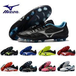2018 Nuevas botas de fútbol Mizuno Rebula V1 para hombre Zapatillas de fútbol Botas BASARA AS WID Calzado de zapatillas deportivas de fútbol sala al aire libre de depredador caliente 40-45 desde fabricantes