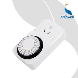 Cambio de hora online-2 unids / lote 16A 220V Austand Heavy Duty ApplianceTimer Switch / Temporizador programable mecánico de 24 horas (SPTG-10A-A 2200W)