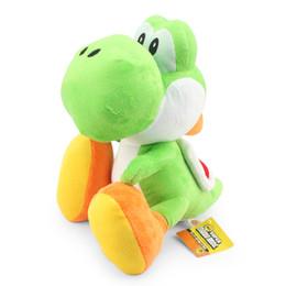 Wholesale yoshi game - 11inch Super Mario Bros Yoshi Plush Doll Toy With Tag Soft Yoshi Doll Kid's Gift 28cm