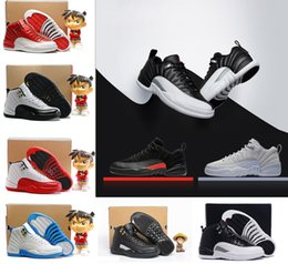 Wholesale Mens Socks For Winter - 12 12s XII basketball shoes for mens white Flu Game wolf grey Gym red taxi gamma french blue cool casual sock dart trainer