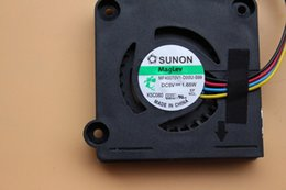 Ventilateurs sunon en Ligne-Nouveau ventilateur de refroidissement pour ordinateur portable SUNON MF40070V1-D00U-S99 DC5V 1.65W 40 * 40 * 6.5MM