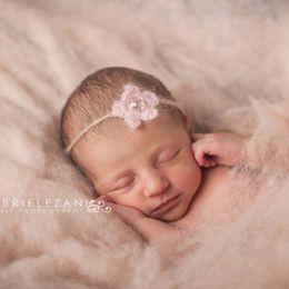 bilder haare stirnbänder Rabatt Neugeborenes Mädchen Mohair Stirnbänder Fotografie Requisiten Säuglingsbild Fotoshooting Headwear Baby Haarband Fotografie Requisiten Zubehör