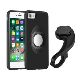 Wholesale Iphone Case Kits - Bike Bicycle Phone Mount Holder Car Magnetic Holder for iPhone 7 7 Plus 4.7 5.5 inch Shockproof Case Holder Multi-Function Kit With Package