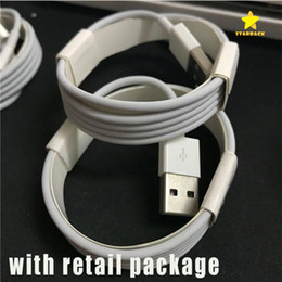Wholesale Box Phones - Micro USB Charger Cable Type C A+++ Quality 1M 3Ft 2M 6FT Sync Data Cable for Phone Samsung S7Edge Note7 With Retail Box