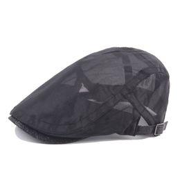 2018 Nuevos Sombreros Cabbie Casuales Gorra de Newsboy Cap Sombrero  Irlandés Newsboys Gorras para Hombres y Mujeres Red Boina Transpirable Fina  caballero ... 3638793b96c