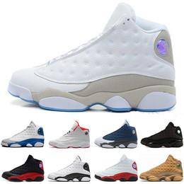 info for ca63e aebe5 Envío gratis Barato Nuevo 13 Zapatos de Baloncesto Zapatillas para Hombre  GS Burdeos Marca Hombres 13s Negro Azul Blanco Zapatos Deportivos EE. UU.