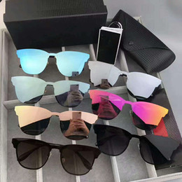 Wholesale Sunglasses Reflective Mirror - NEW brand Polarized Aviation Sunglasses for Men women Male Driving glasses Reflective Coating Eyewear Night vision driving mirror