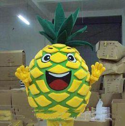 Wholesale mascot costume plush - 2018 Discount factory sale pineapple plush adult mascot costume cartoon character costumes party fancy dress
