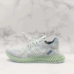 66f144a28 Futurecraft Alphaedge 4D LTD Aero Ash Print White B96613 Kicks Men Running  Sports Shoes Sneakers Trainers With Original Box genuine leather sneaker  ash for ...