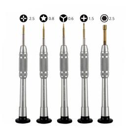 Juego de destornilladores 5 en 1 para iPhone X iPhone 8 8P 7 7P 6S 6 Herramientas de reparación Juego de desmontaje de apertura desde fabricantes