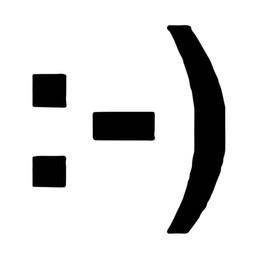 Accessori viso smiley online-Modello accessorio della decalcomania del corpo di imballaggio dell'automobile del vinile dell'autoadesivo dell'autoadesivo della siluetta di smiley