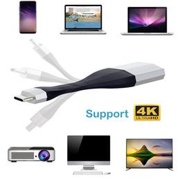 2019 отметить hdmi UHD 4K Ultra HD USB 3.1 Type C к адаптеру HDMI USB3.1 Тип-C USB-C к HDMI кабель HDTV AV конвертер для Samsung S8 Примечание 8 Macbook дешево отметить hdmi