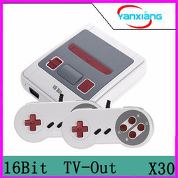 Wholesale 16 Bit Games - 30pcs 16 Bit Retro Mini Video Game Console Family Handheld Consoles Support TV AV Output Vedio MD Games With Retail Box Via DHL YX-MD-01