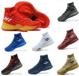 Wholesale Mens Sport Toe Socks - Newest Color 2017 Crazy Explosive Boost 2017 Andrew Wiggins Basketball Shoes for High quality Mens Socks Sports Training Sneakers Size 7-12