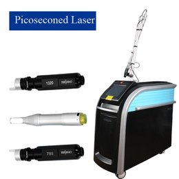 Q switch prezzo yag laser online-Pico Laser Machine Tattoo Removal Prezzo laser picosecondo in piedi coreano Picosecond q switched nd yag laser 1064 + 532 + 755
