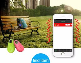 Wholesale dog gps track - Bluetooth Mini Smart Finder Smart Wireless Bluetooth 4.0 Tracer GPS Locator Tracking Tag Alarm Wallet Key Pet Dog Tracker