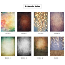 2019 ducha estrella luces blancas 1.5 * 2.1 m / 5 * 7 pies Fondo de la fotografía Glitter Spot Wood Floor Backdrop para DSLR Camera Photo Studio Video Weeding Decor