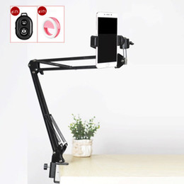 2019 фотосъемка Photography Phone Clip Bracket+Suspension Arm Stand Clip Holder and Table Mounting Clamp Pop Kits for Live Show Shooting Video скидка фотосъемка