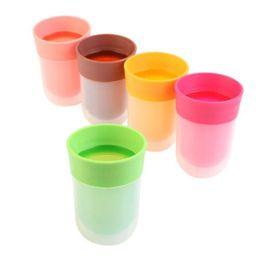 Wholesale Plastic Juice Cups - The Right Cup Plastic Fruit Flavored Mug Multi Color Creative Juice Bottle Portable Hot Sale 16xz C R