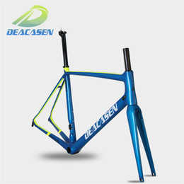 Wholesale Time Carbon Road Bikes - 2018 Leopard T1000 ud Carbon Road bicycle Frame 45-56cm weight about 880+-20g Deacasen Leopard frame better time BB86