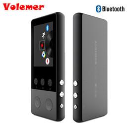 Wholesale Pedometer Radio - Volemer 1.8 inch TFT Screen Bluetooth HIFI MP3 Music Player Sport Walkman with Voice Recorder Pedometer Video E-book FM Radio