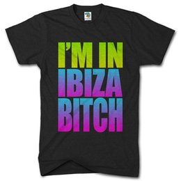 12588648ac5 Im In Ibiza B  ch Funny Holiday Tshirt Party Clubbing Holiday Mens T Shirt  TopFunny free shipping Unisex Casual tee gift funny party t shirts on sale