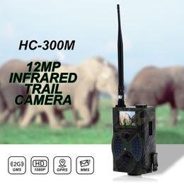 скрытые камеры записи Скидка Hc300m охотничий след камеры HC-300M Full HD 12MP 1080P видео ночного видения MMS GPRS скаутинг инфракрасный игры охотник Cam бесплатная доставка