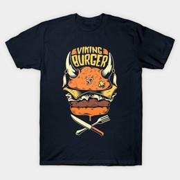 vikings t-shirt Promotion T-shirt Viking Burger