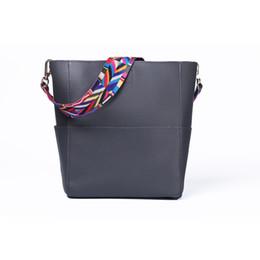 Wholesale Orange Buckets - New personality color shoulder trend fashion single shoulder cross - bag.