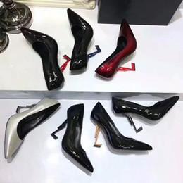 Rabatt Schwarze Rote Pumpen Schuhe 2019 Frau Schuhe Schwarze Rote