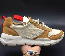 Canada Tom Sachs x Craft Mars Yard 2.0 TS NASA Chaussures de Course Femmes Hommes AA2261-100 Naturel Sport Rouge Sneaker Designer Chaussure Zapatillas Vintage Offre