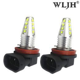 Wholesale Toyota Bulb H11 - WLJH 80W H8 LED H9 H11 Led Car Fog Light Daytime Running Light Driving Lamp DRL Bulb 1200Lm 12v 24v LED