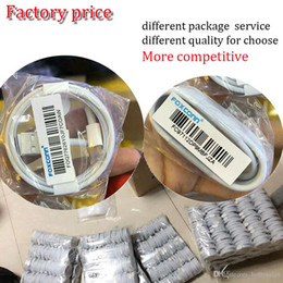 Wholesale Data Cable For Mobile - high quality fast charge cable 1m 3 ft foxconn cable factory chip 3.0OD usb data sync cable for 7 mobile with original package for choose